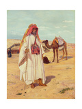 Arab Shaykh (Richard Burton in Arab Dress), 1854 Giclee Print by Thomas Seddon