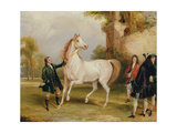 The Earl of Godolphin's 'Roxana' Held by Her Jockey, 1845 Giclee Print by Francis Calcraft Turner