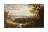 View of the Hudson, 1883 Giclee Print by Jasper Francis Cropsey