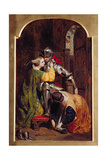 The Knight's Return (The Return of the Crusader), 1846 Giclee Print by Frederick Richard Pickersgill