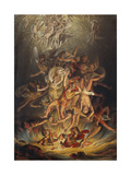 The Fall of the Angels, 1798 Giclee Print by Edward Dayes