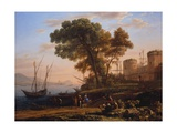An Artist Studying from Nature, 1639 Giclee Print by Claude Lorrain