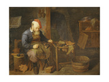 A Cobbler Giclee Print by David III Ryckaert