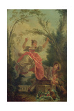 The See-Saw Giclée-Druck von Jean-Honoré Fragonard