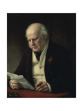 Charles Fox, 1869 Reproduction procédé giclée par George Peter Alexander Healy