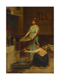 The Household of Gods Giclee Print by John William Waterhouse