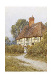 Going Shopping Giclee Print by Helen Allingham