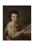 Portrait of William Heberden the Younger Giclee Print by Angelica Kauffmann