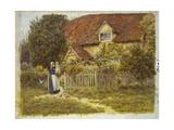 East End Farm, Moss Lane, Pinner Giclee Print by Helen Allingham