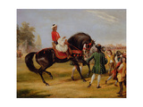 The Earl of Godolphin's 'scham' with an Arab Up, 1845 Giclee Print by Francis Calcraft Turner