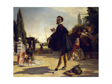 Shakespeare, Twelfth Night, Act II, Scene V Giclee Print by John Callcott Horsley
