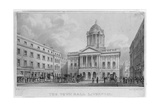 Liverpool Town Hall, 1830 Giclee Print by William Gavin Herdman