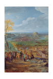 The Siege of Besancon in 1674 by the Army of Louis Xiv Giclee Print by Jean-Baptiste Martin