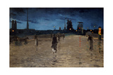 Le Pont De Pierre, Rouen, 1881 Giclee Print by Charles Angrand