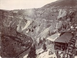 Gilman and Eagle River Canyon, C.1880-90 Photographic Print by William Henry Jackson