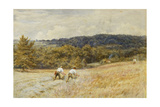 The Reapers Giclee Print by Helen Allingham