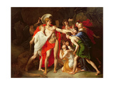 The Gratitude of Thebes, C.1855 Giclee Print by Alexandre Louis Patry