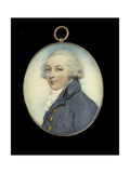 Portrait Miniature of a Gentleman, C.1790 Giclee Print by Andrew Plimer
