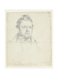 Sketch of Chartist Prisoner, John Collins, Taken in Court Giclee Print by William Wolfe Alais