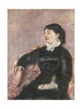 Portrait of an Italian Lady Giclee Print by Mary Stevenson Cassatt