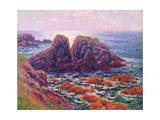 The Sea at Finistere, 1899 Giclee Print by Henry Moret