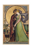 Love Is Strong as Death, 1894 Giclee Print by John Jewell Penstone