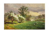 Apple Blossom Time, 1899 Giclee Print by Jasper Francis Cropsey