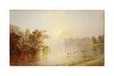 Hazy Afternoon - Autumn, 1873 Giclee Print by Jasper Francis Cropsey