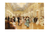The Ball Giclee Print by Victor Gabriel Gilbert