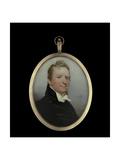 Portrait Miniature of Hugh Scott, 1815 Giclee Print by Andrew Robertson