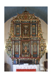 Altarpiece, Mo I Rana Church, 1765 Giclee Print
