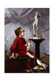 The Doll Giclee Print by Louis Robert Carrier-Belleuse