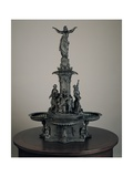 Model for the Tyler Davidson Fountain, Cincinnati, C.1868 Giclee Print by August von Kreling