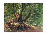 Robin Hood and His Merry Men, 1859 Giclee Print by Edmund George Warren