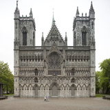 Cathedral of Nidaros, Trondheim Photographic Print