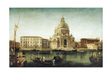 Santa Maria Della Salute, Venice, with Gondolas on the Grand Canal Giclee Print by Michele Marieschi