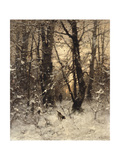 Winter Twilight, 1891 Giclee Print by Ludwig Munthe