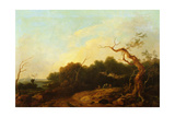 Landscape, C.1750 Giclee Print by Thomas Gainsborough