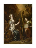 St. Cecilia Giclee Print by Francesco Solimena