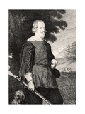 Felipe IV in Hunting Costume Giclee Print by Diego Rodriguez de Silva y Velazquez