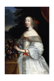 Portrait of Anne Marie Louise, Duchesse D'Orleans Giclee Print by Charles Beaubrun
