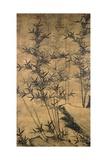 Bamboos Giclee Print by  Yu Dok-jang