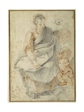 The Holy Family Giclee Print by Giovanni Battista Vanni