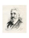 Philippe Rousseau, 1887 Giclée-Druck von Gaston Vuillier
