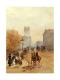 Parliament Street, 1892 Giclee Print by Rose Maynard Barton