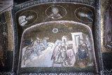 Fresco Depicting the Journey of the Magi Photographic Print