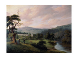 Bolton Abbey from the River Wharfe Giclee Print by J. M. W. Turner