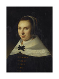 Portrait of a Young Woman, 1654 Giclee Print by Anthonie Palamedesz