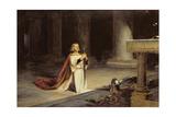 La vigilia, 1884 Lámina giclée por John Pettie