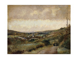Last Days of Autumn at Hondouville-Sur-Iton Giclee Print by Albert-Charles Lebourg